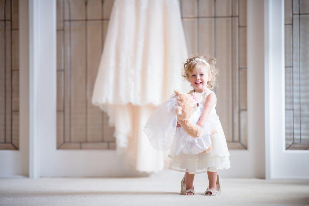 cute luxury dress for children